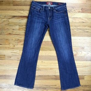 Lucky Brand, Sofia Boot cut jeans, size 12 / 31